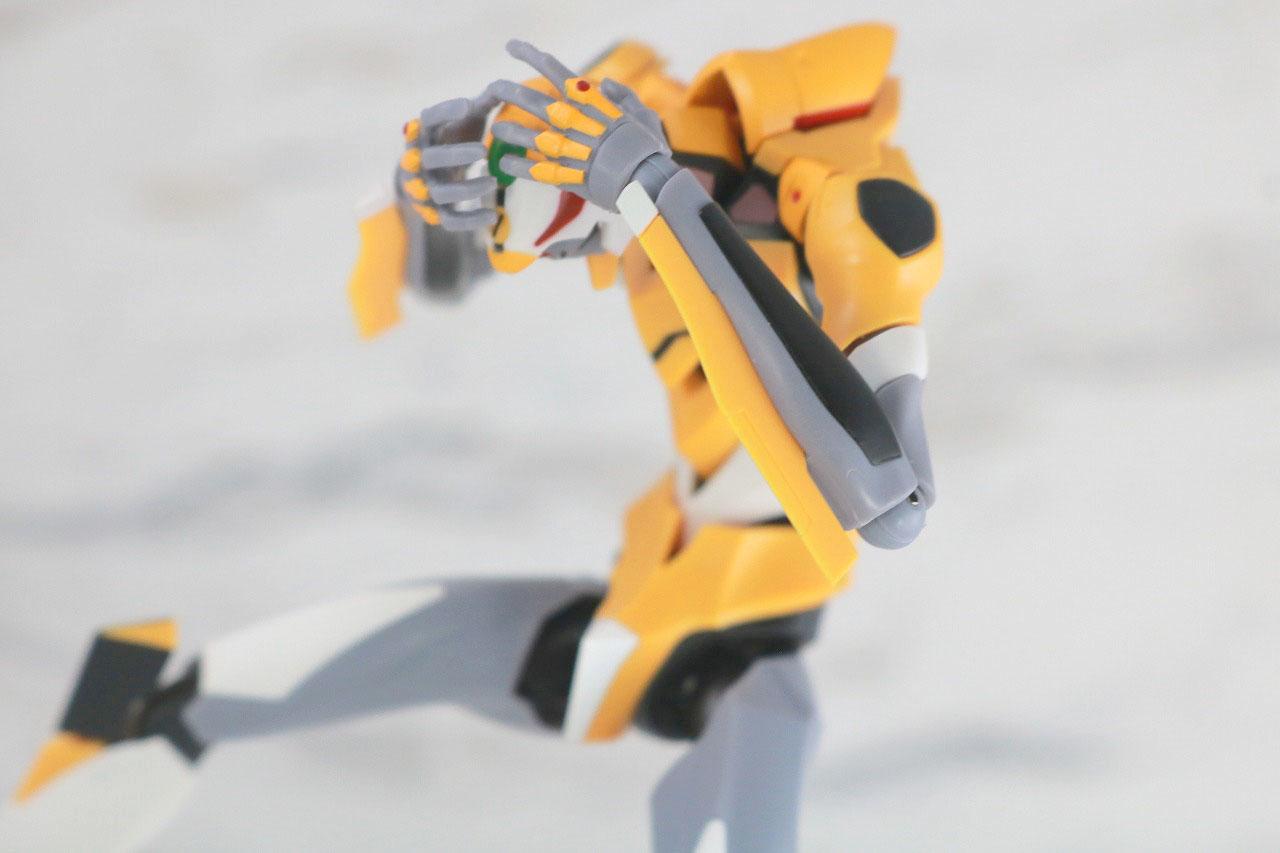 ROBOT魂 エヴァンゲリオン 零号機 新劇場版 レビュー アクション