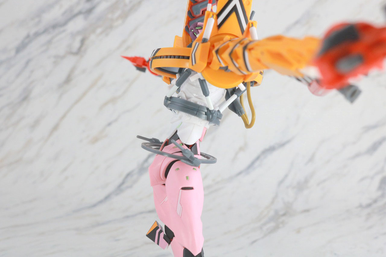 ROBOT魂 エヴァンゲリオン 8号機β 臨時戦闘形態 レビュー 可動範囲