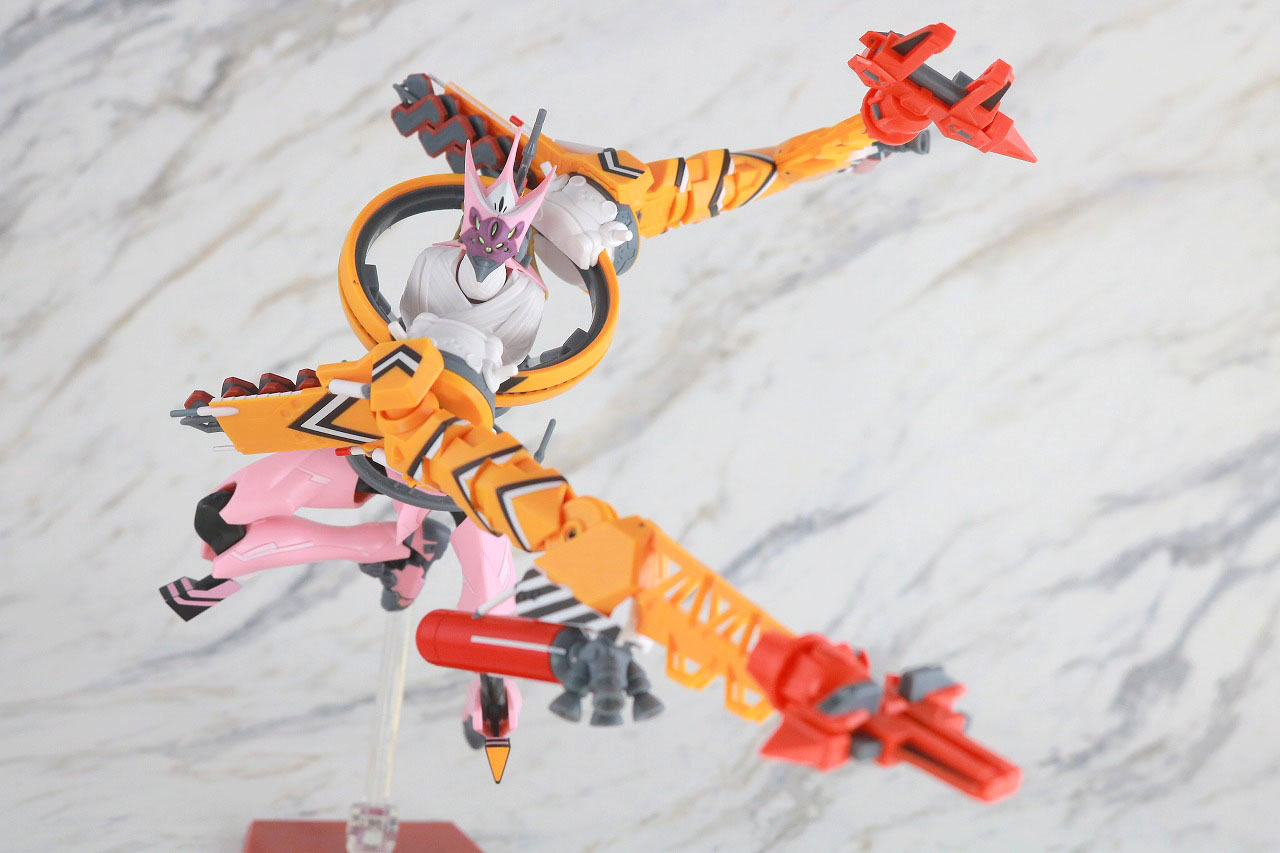 ROBOT魂 エヴァンゲリオン 8号機β 臨時戦闘形態 レビュー アクション