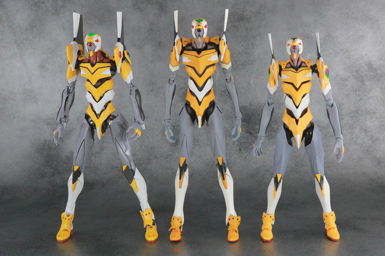 MAFEX エヴァンゲリオン 零号機(改) レビュー 本体 RG ROBOT魂 比較