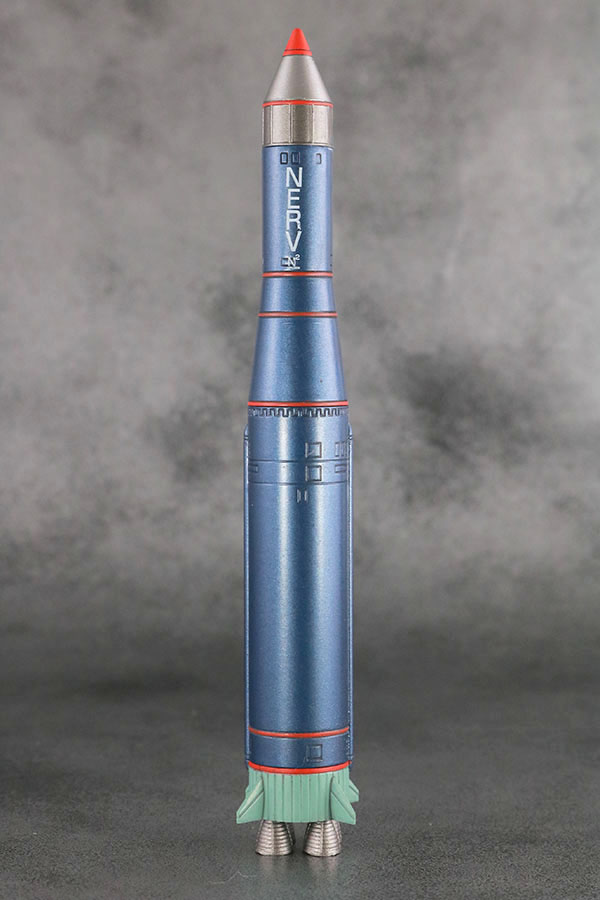 MAFEX エヴァンゲリオン 零号機(改) レビュー 付属品 大型N2弾頭搭載型大陸間弾道弾