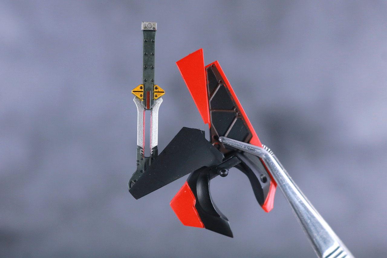 MAFEX エヴァンゲリオン2号機 レビュー 付属品 プログレッシブナイフ