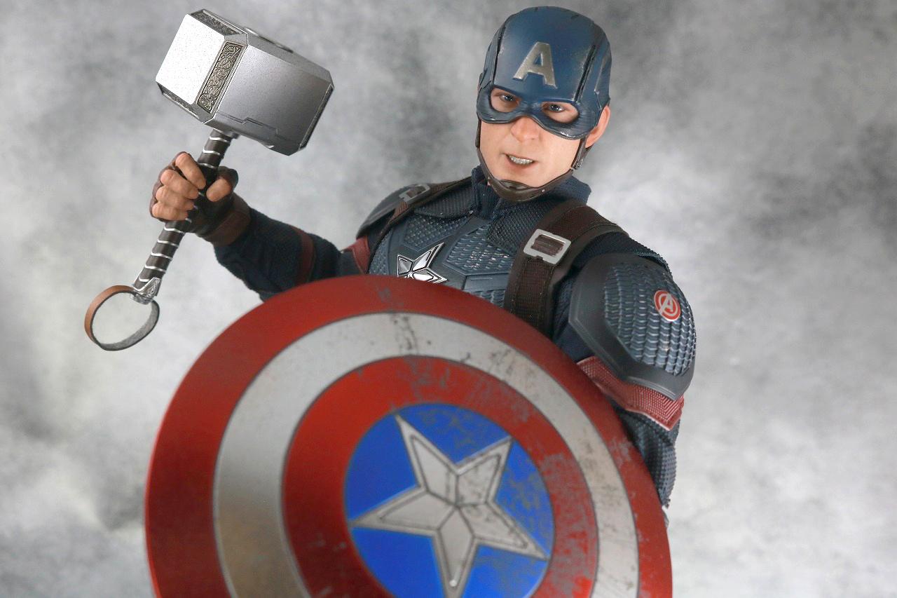 ホットトイズ キャプテンアメリカ(アベンジャーズ/エンドゲーム) レビュー
