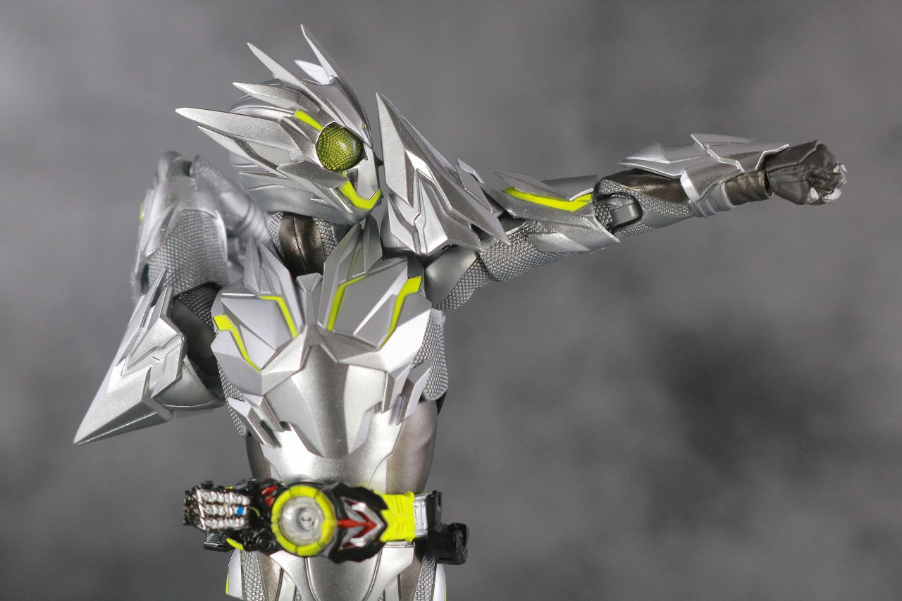 S.H.フィギュアーツ 仮面ライダーゼロワン メタルクラスタホッパー レビュー 可動範囲