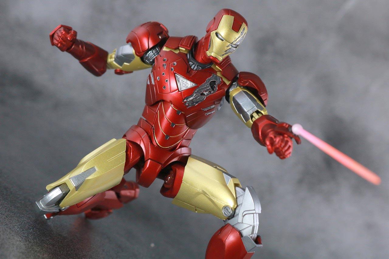 S.H.フィギュアーツ アイアンマン マーク6 BATTLE DAMAGE EDITION レビュー