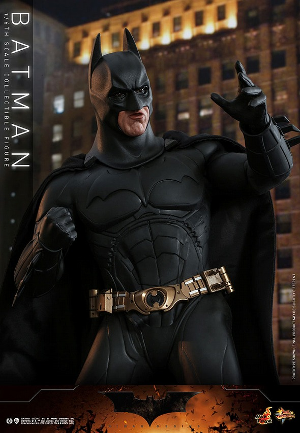 ホットトイズ ムービー・マスターピース バットマン 2.0版(『バットマン ビギンズ』