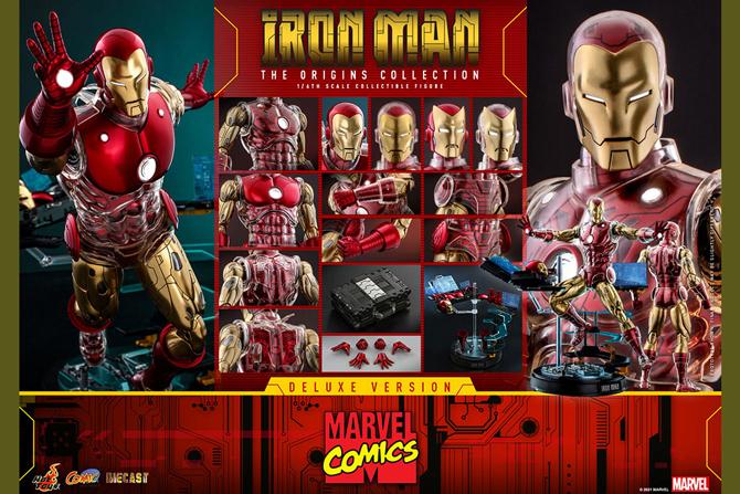 【予約開始】ホットトイズ新作!コミック版アイアンマンが2022年12月発売!トイサピ限定にはボーナスパーツも!