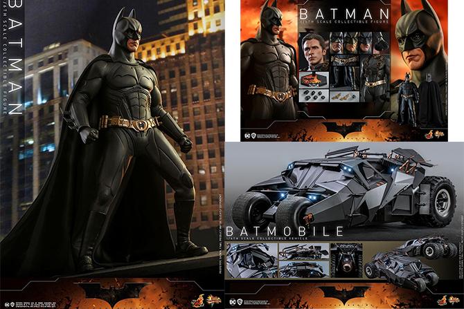 【予約開始】ホットトイズ新作!『バットマン ビギンズ』版バットマン&バットモービルが2022年12月発売!