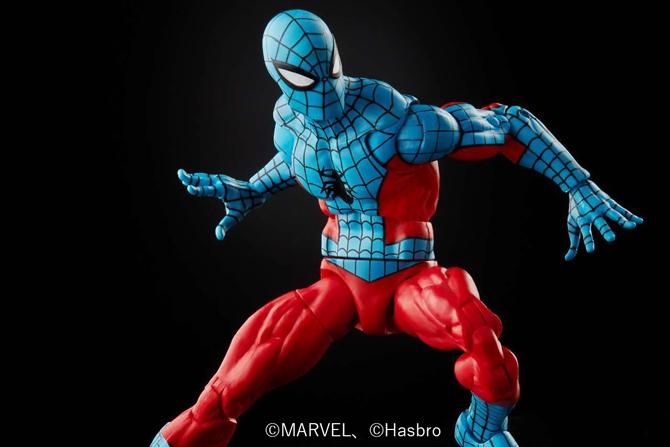 マーベルレジェンド新作!ブルーのスパイダーマン「ウェブマン」がレトロパッケージで商品化!