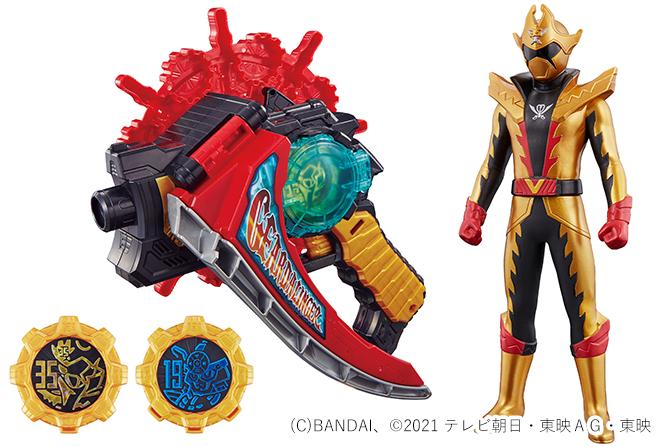 """新戦士""""ツーカイザー""""に変身!「DXギアダリンガー」が2021年4月24日発売!オーレン&シンケンギアも?"""