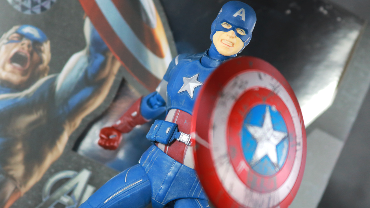 【汚しがリアル】S.H.フィギュアーツ キャプテンアメリカ AVENGERS ASSEMBLE EDITIONをレビュー!