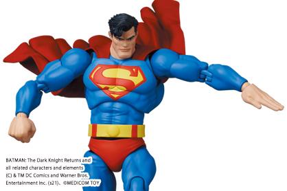 MAFEX新作!『バットマン:ダークナイト・リターンズ』版スーパーマンが22年3月発売!クリプトナイトアロー付き!
