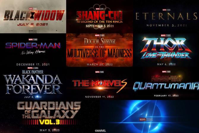【2021年版】MCUフェイズ4の映画公開予定日をまとめ! ー 未発表の映画や製作の噂もある作品も