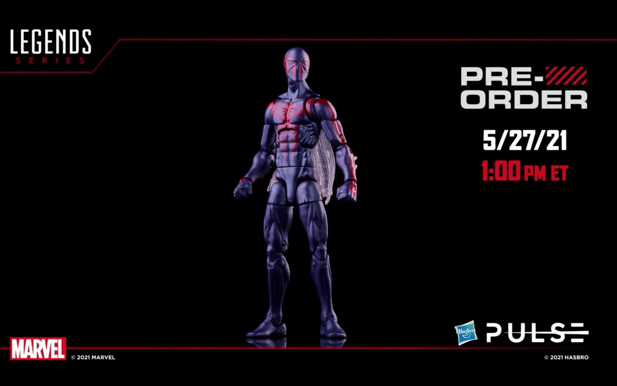 マーベルレジェンド スパイダーマン2099(レトロパッケージ)