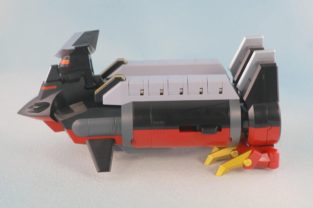 THE合体 DX合体竜人 ダイナゼノン レビュー ダイナダイバー 本体
