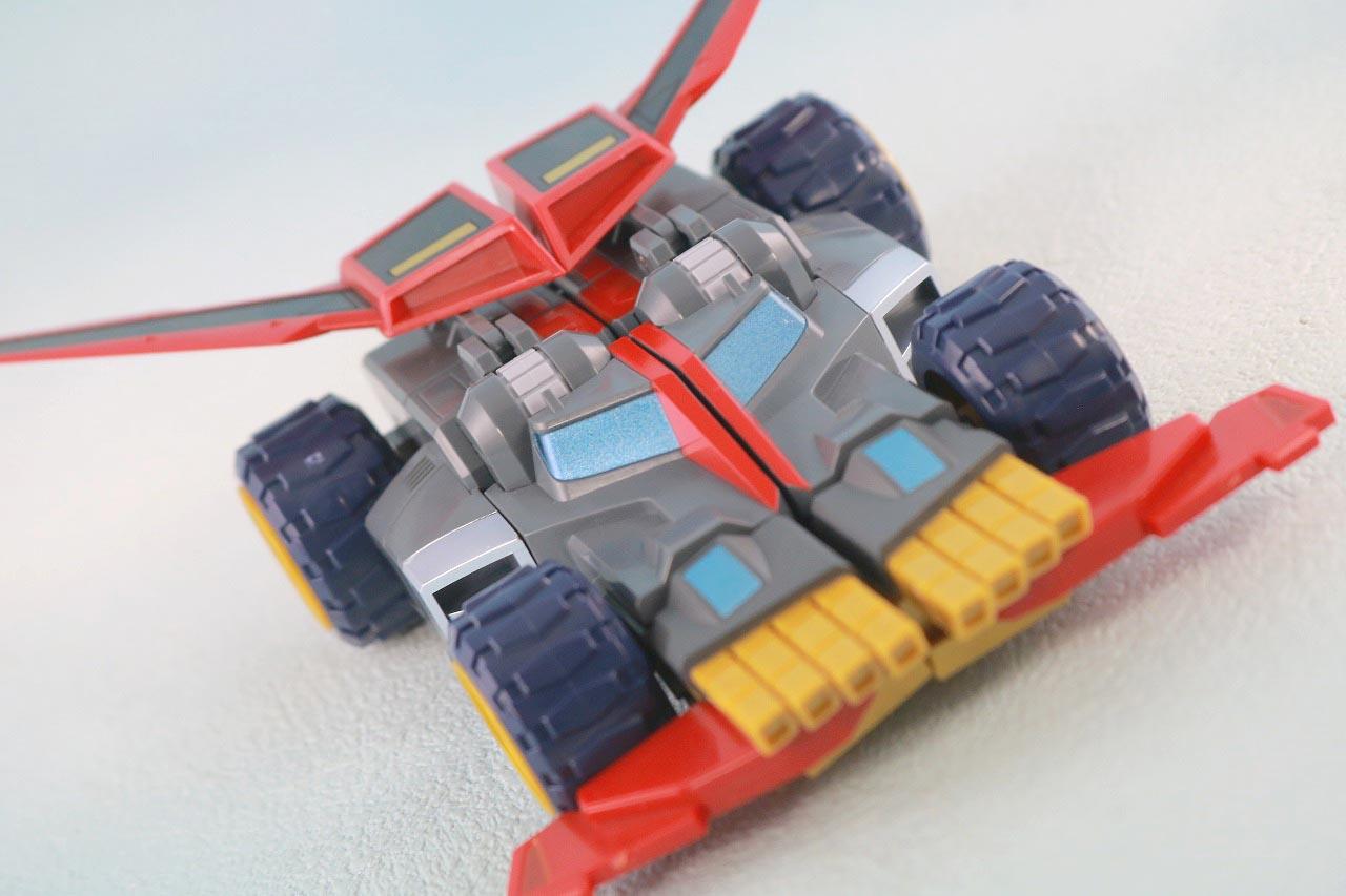 THE合体 DX合体竜人 ダイナゼノン レビュー ダイナストライカー アクション