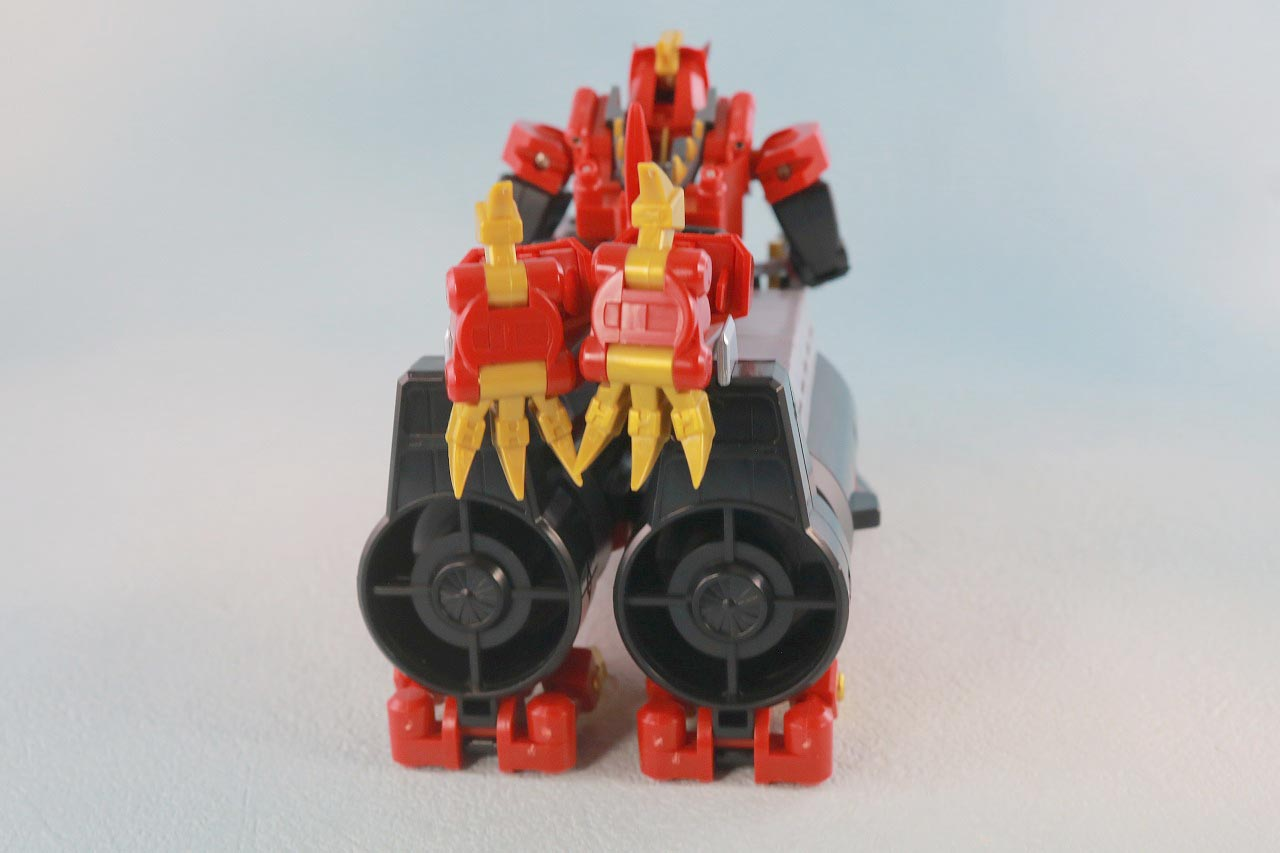 THE合体 DX合体竜人 ダイナゼノン レビュー ダイナソルジャーダイバーコンバイン 本体