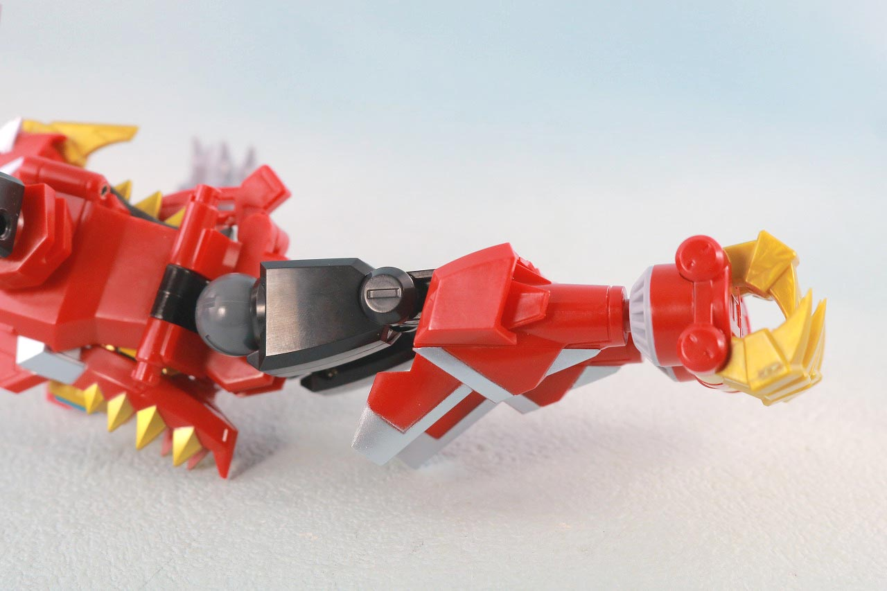THE合体 DX合体竜人 ダイナゼノン レビュー 合体ギミック解説