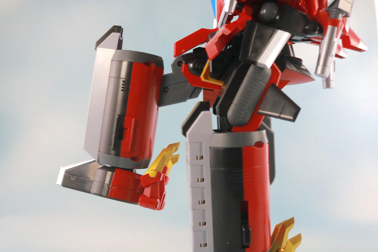 THE合体 DX合体竜人 ダイナゼノン レビュー 可動範囲