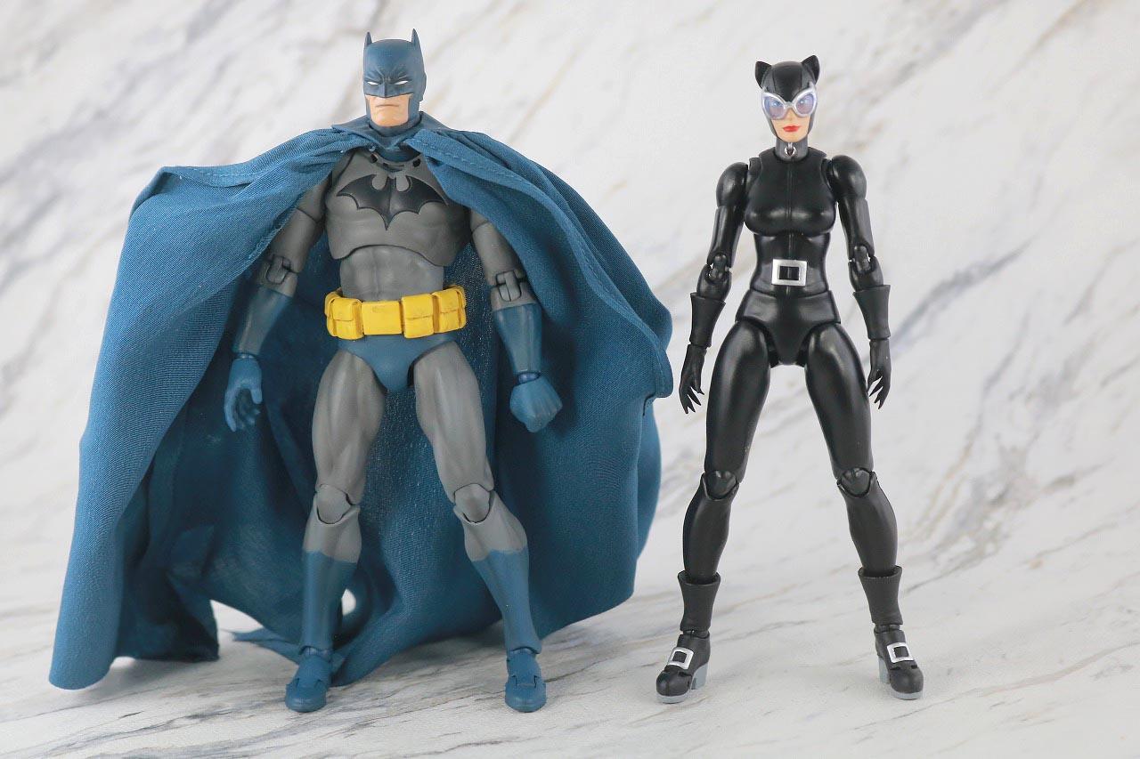 MAFEX キャットウーマン バットマン HUSH ハッシュ レビュー 本体 バットマン 比較