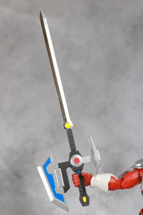 ULTRA-ACT ウルトラアクト グリッドマン レビュー 付属品 電光電撃剣グリッドマンソード