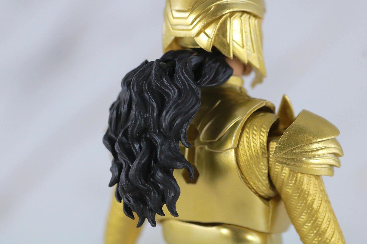 S.H.フィギュアーツ ワンダーウーマン ゴールドアーマー レビュー 付属品 差し替えヘッド メット