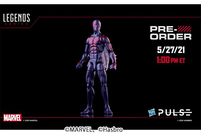 マーベルレジェンド新作!スパイダーマン2099がレトロパッケージで2021年11月に発売!
