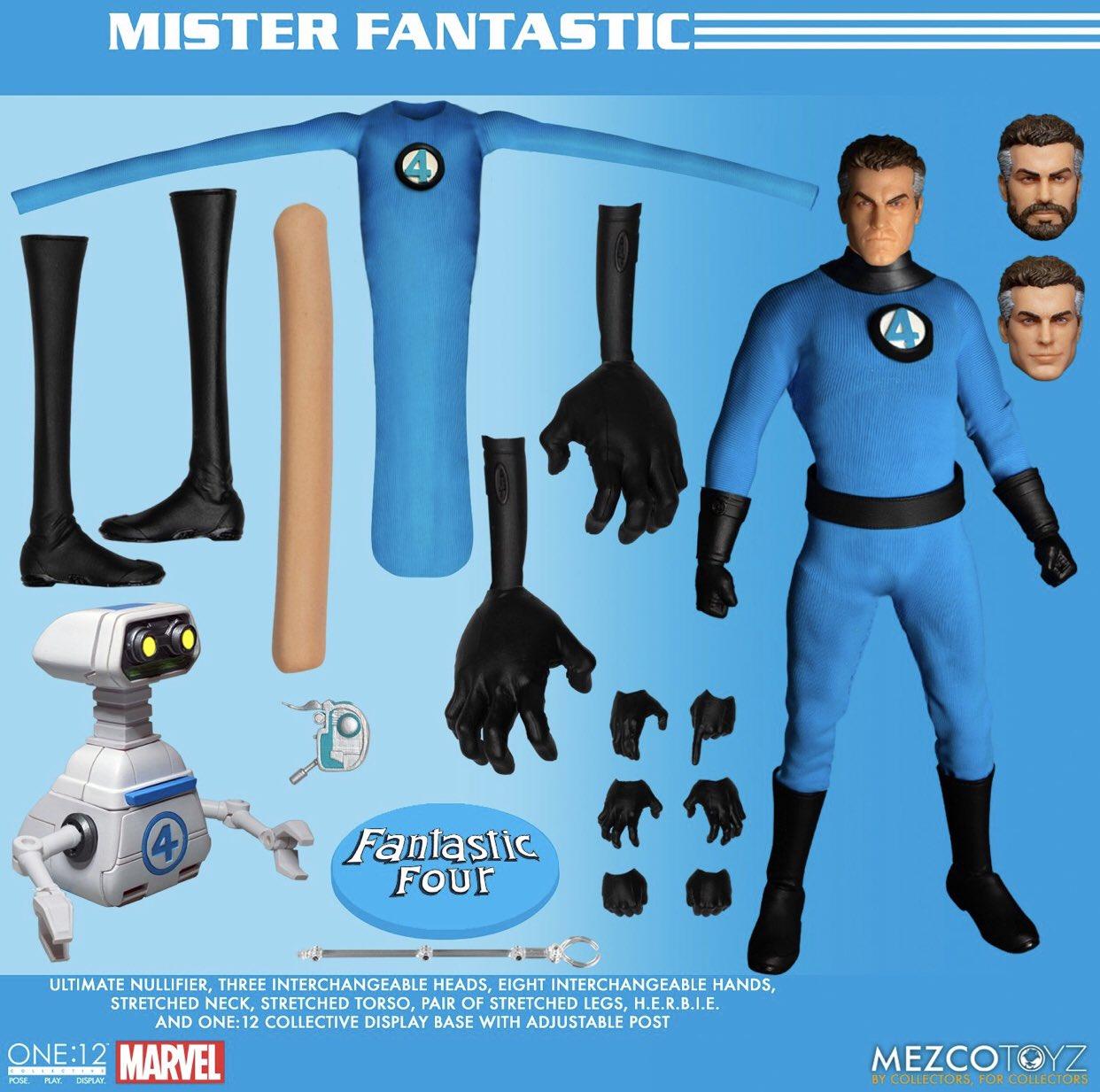 メズコ ONE 12 ファンタスティック・フォー ミスター・ファンタスティック