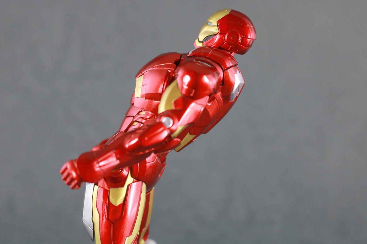 figma アイアンマン マーク7 フルスペックVer. レビュー 可動範囲