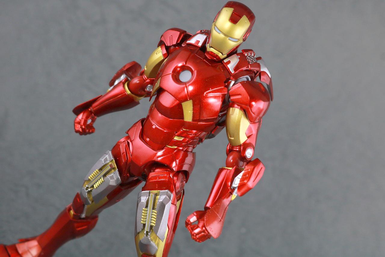 figma アイアンマン マーク7 フルスペックVer. レビュー アクション
