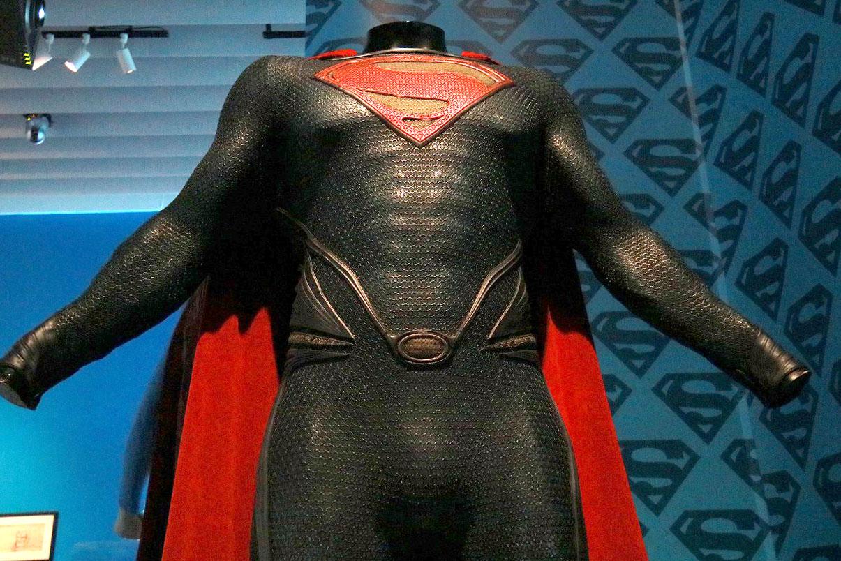 DC展 スーパーヒーローの誕生 レポート スーパーマンエリア