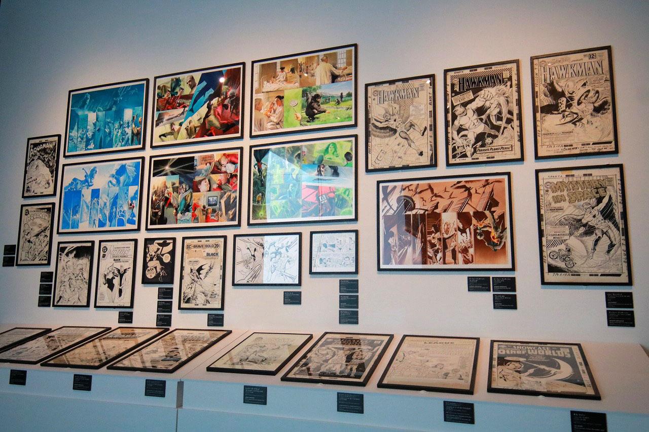 DC展 スーパーヒーローの誕生 レポート ジャスティスリーグ エリア