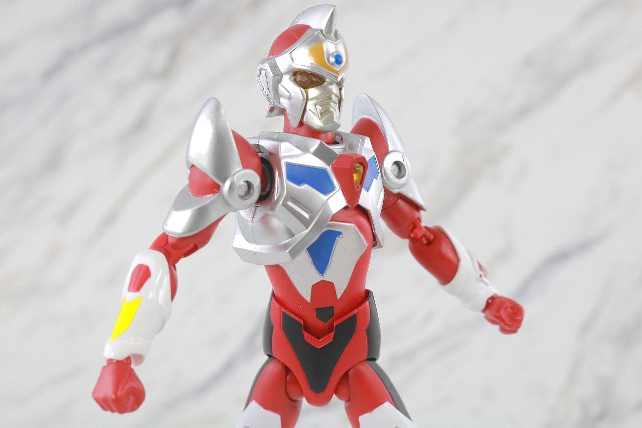 HAF Hero Action Figure グリッドマン レビュー 可動範囲