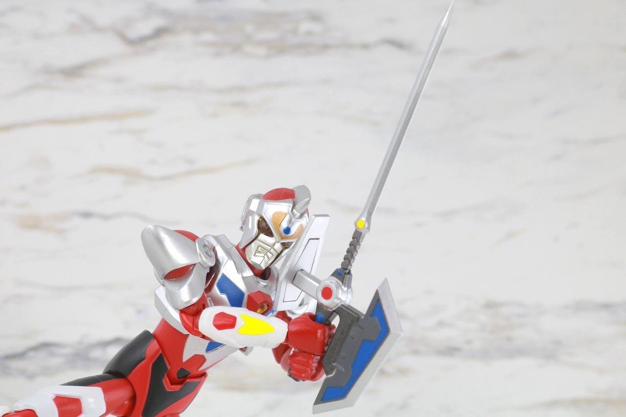 HAF Hero Action Figure グリッドマン レビュー アクション