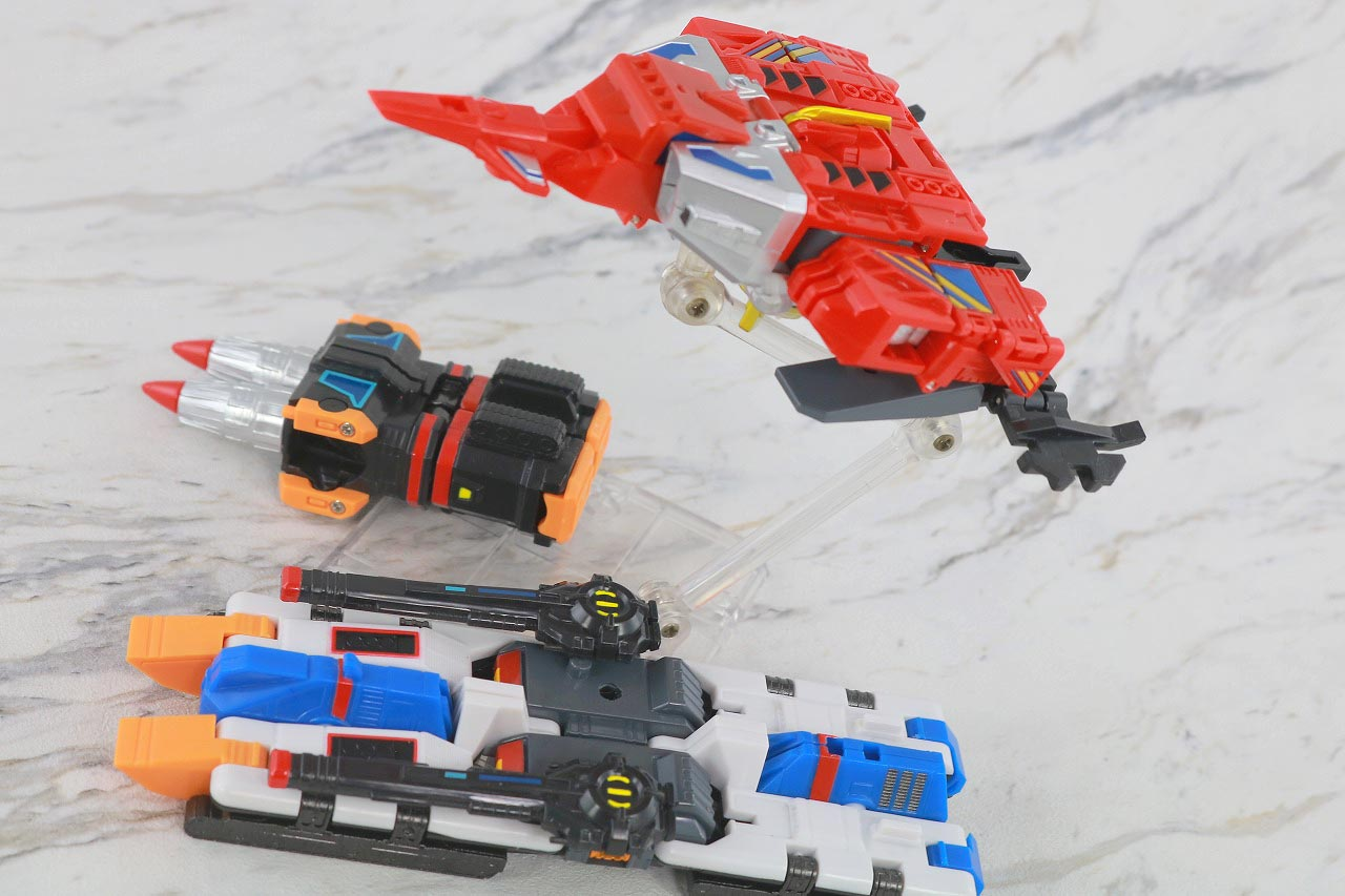 HAF Hero Action Figure サンダージェット ツインドリラー ゴッドタンク レビュー アクション