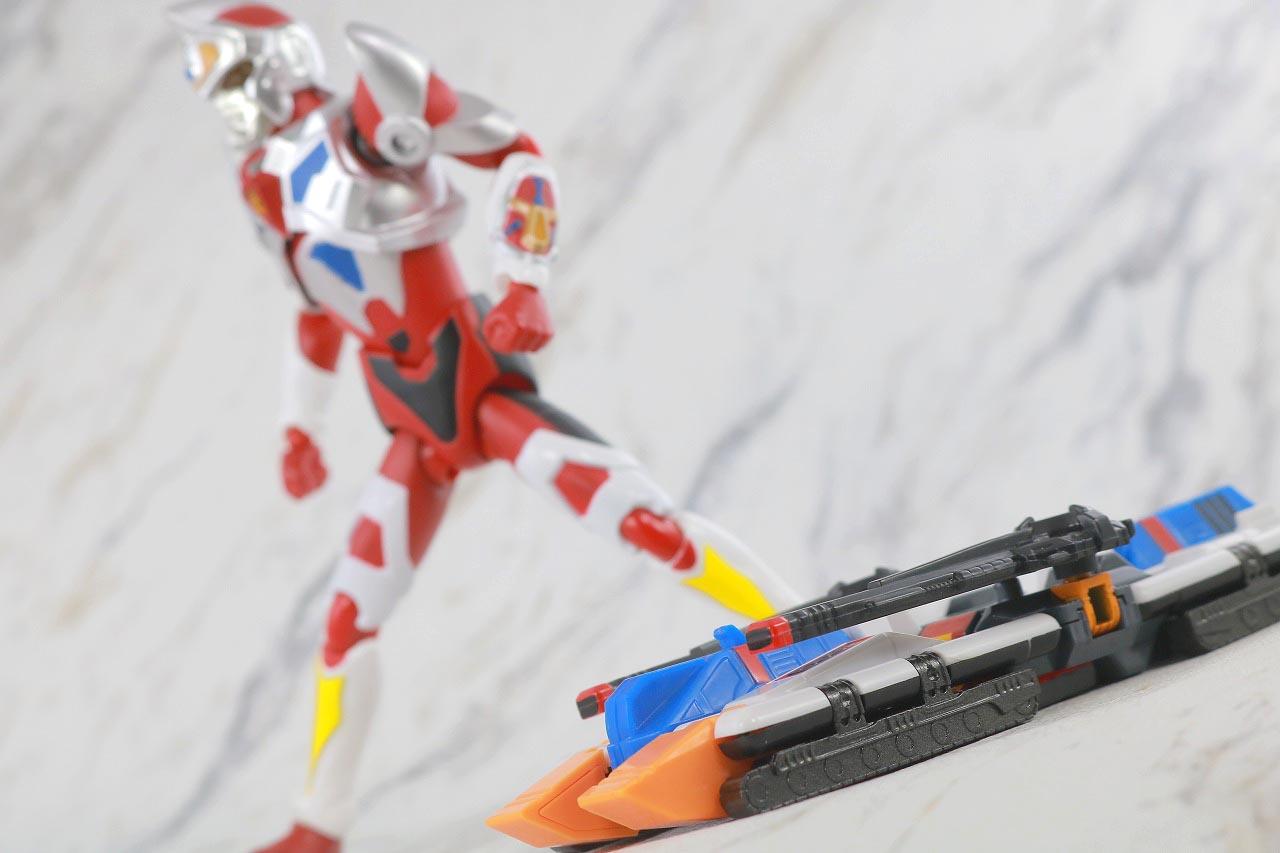 HAF Hero Action Figure ゴッドタンク レビュー アクション