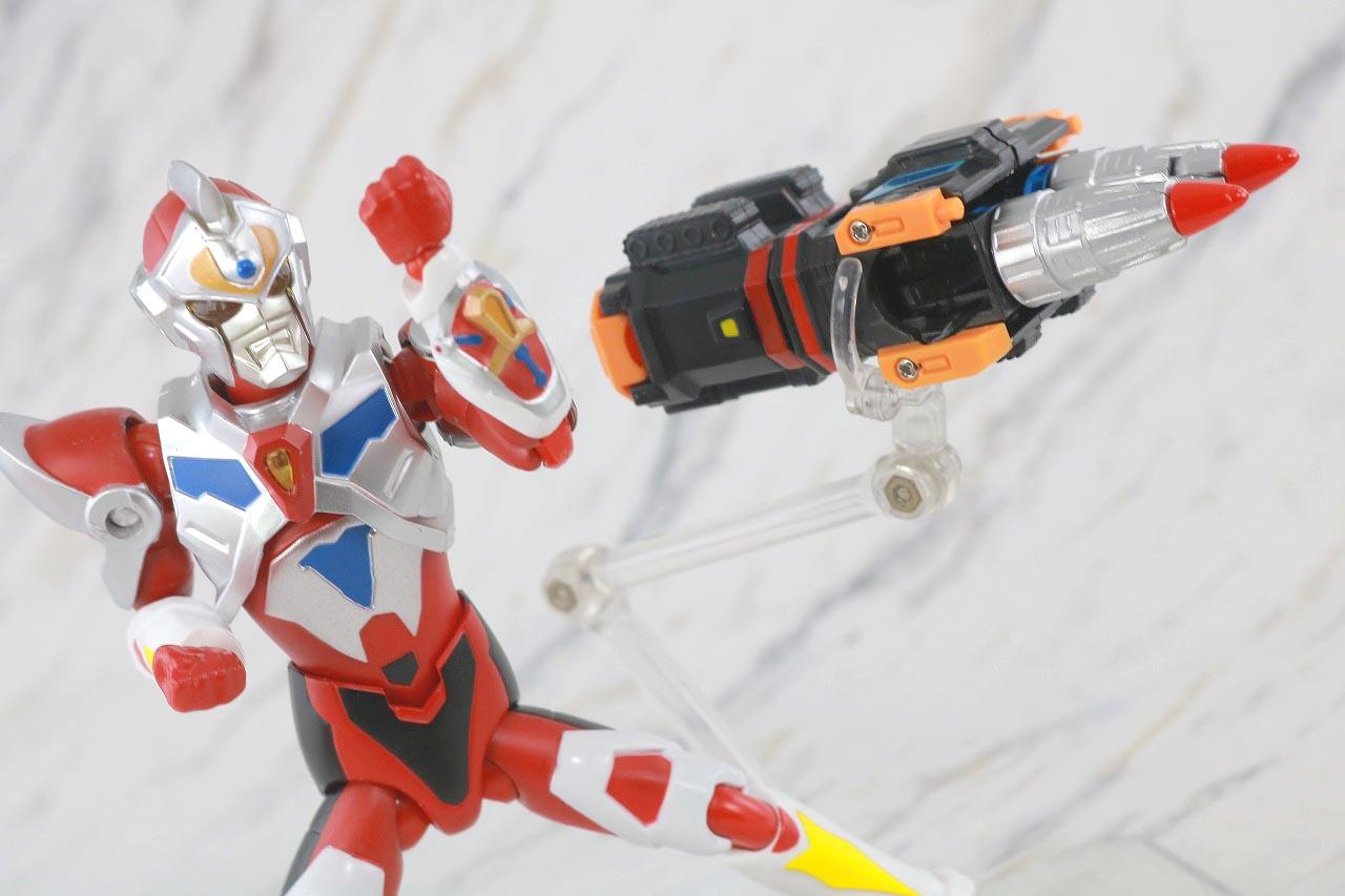 HAF Hero Action Figure ツインドリラー レビュー アクション