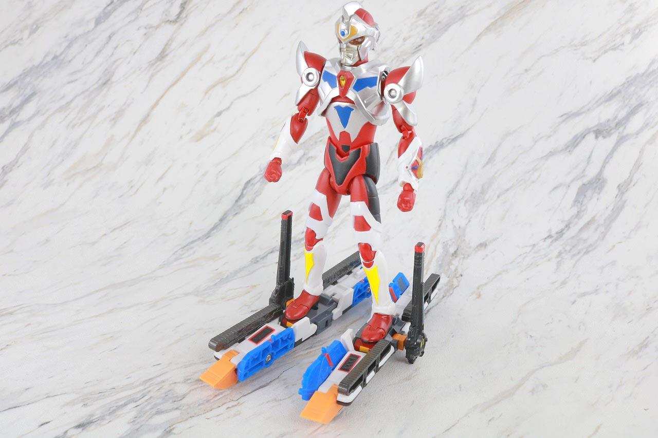 HAF Hero Action Figure サンダーグリッドマン ゴッドタンク レビュー 合体