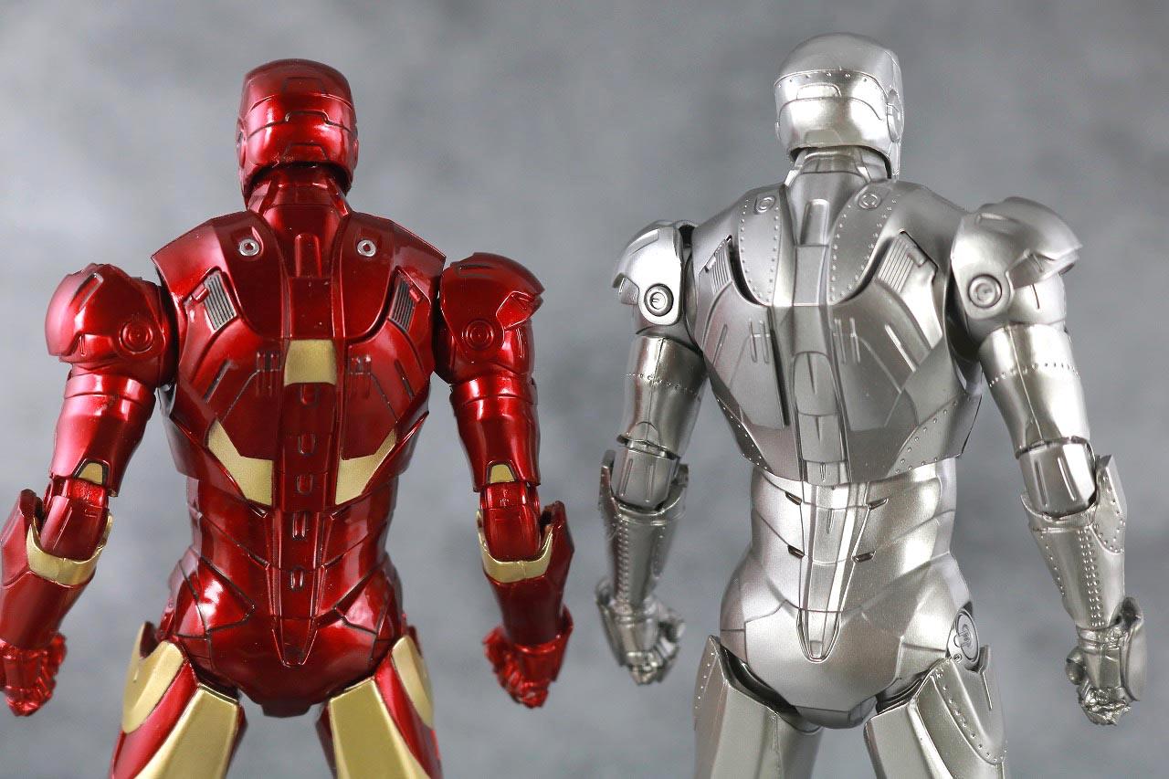 ZDtoys アイアンマン マーク2 レビュー 本体 アイアンマン マーク3 比較