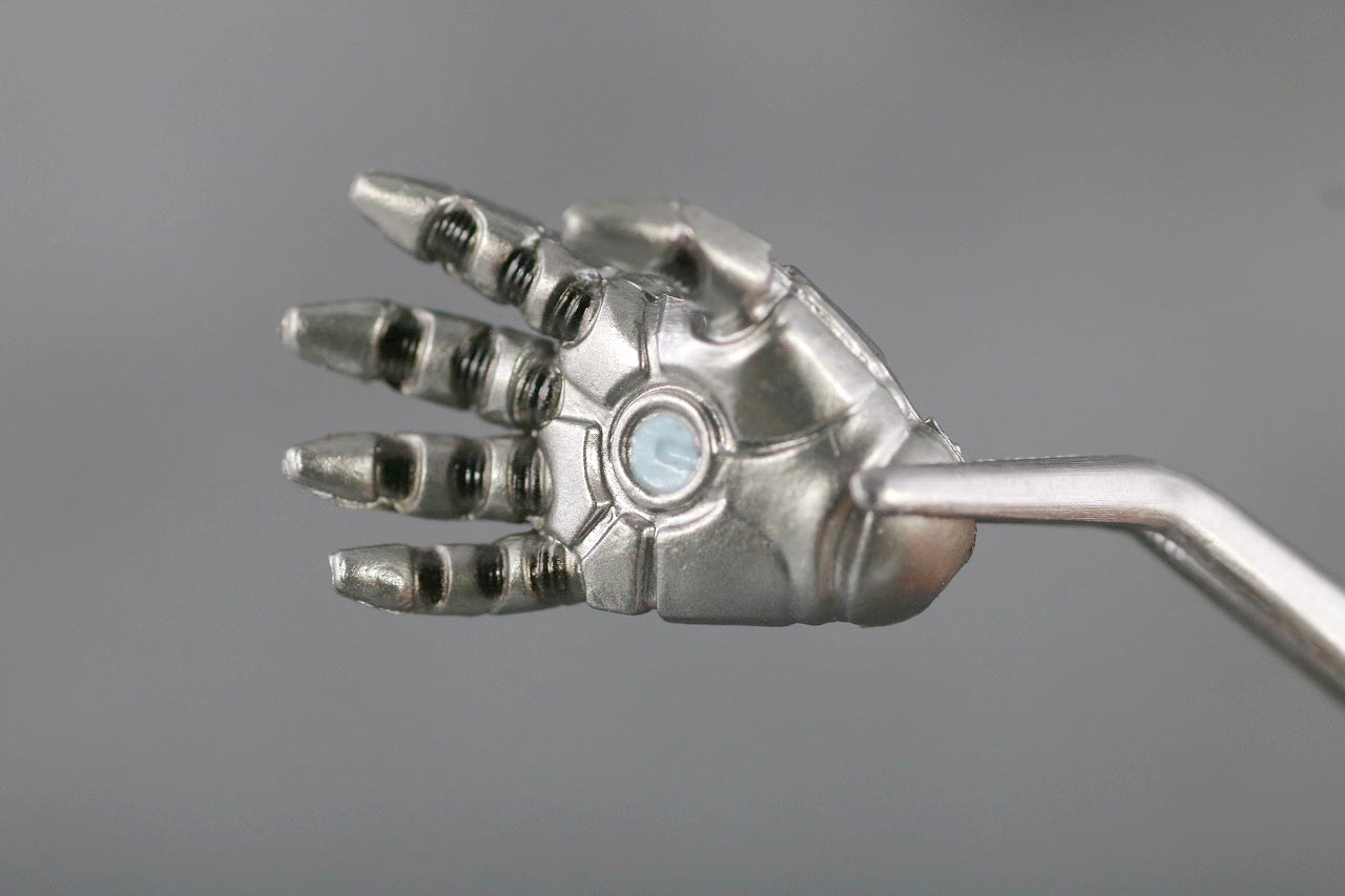 ZDtoys アイアンマン マーク2 レビュー 付属品 手首