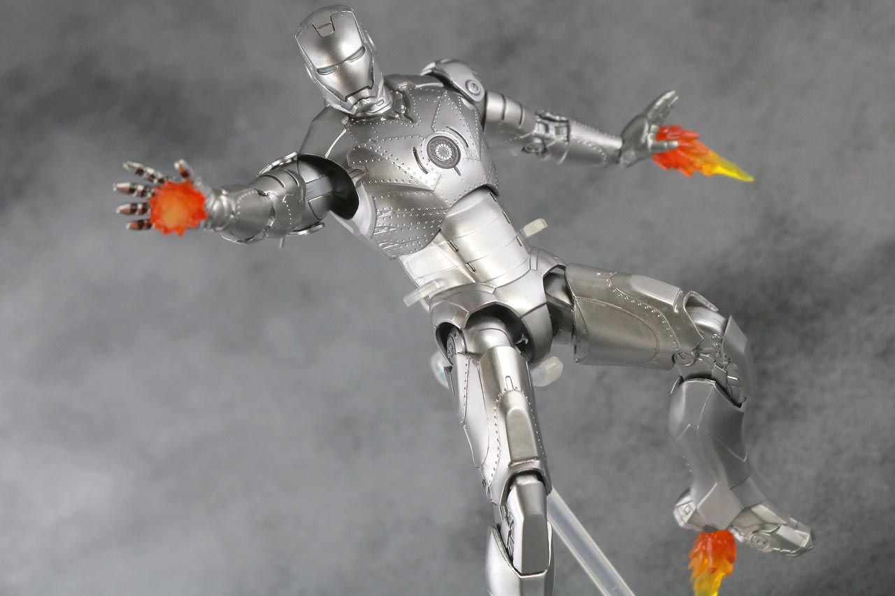ZDtoys アイアンマン マーク2 レビュー アクション