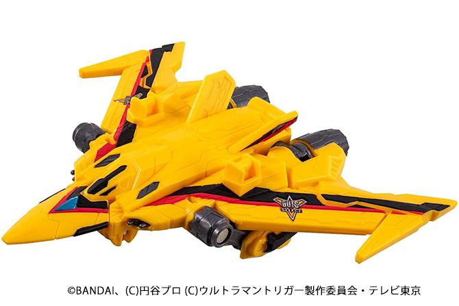 ウルトラマントリガーの戦闘機「DXガッツファルコン」が2021年7月発売!2モード変形も再現!