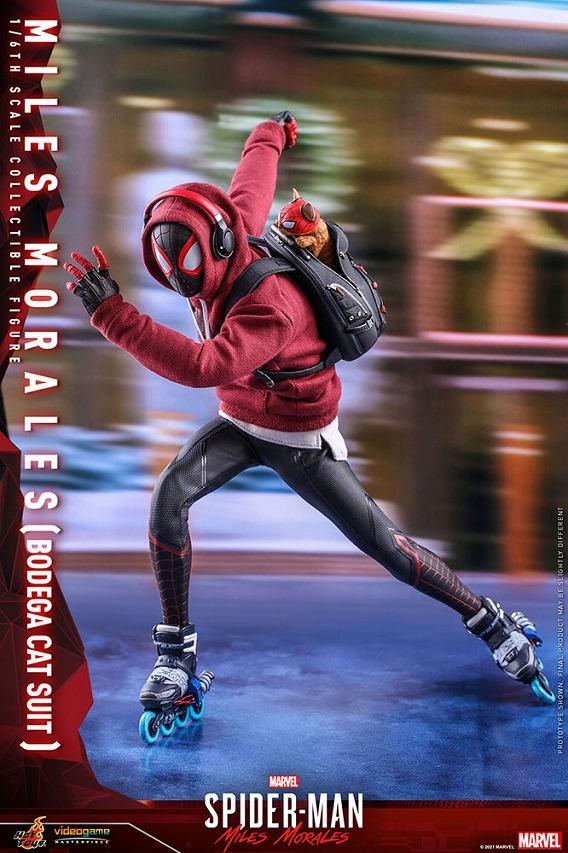 ホットトイズ ビデオゲーム・マスターピース マイルス・モラレス/スパイダーマン(売店の看板猫スーツ版)