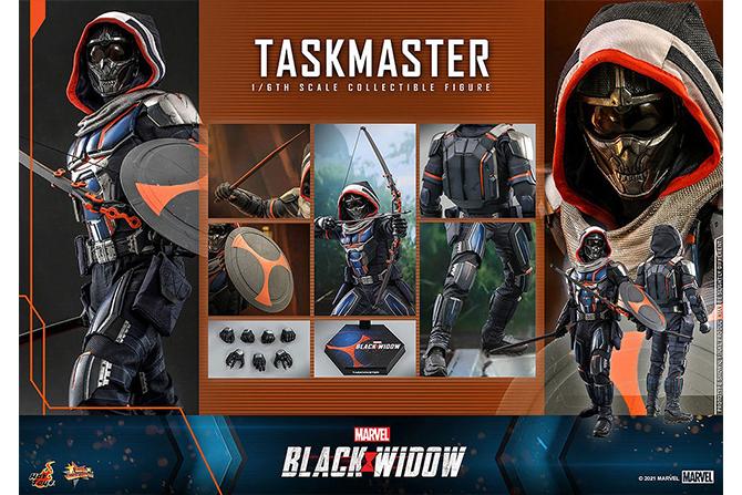 【予約開始】ホットトイズ新作!『ブラック・ウィドウ』登場のタスクマスターが2022年9月に発売!多彩な武器も付属!
