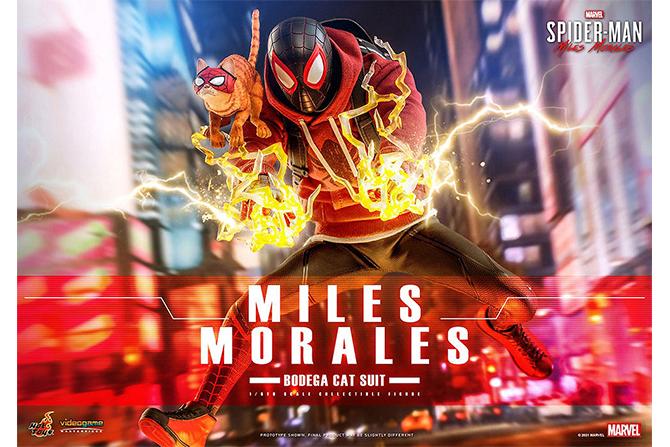 ホットトイズ新作!ゲーム版よりマイルス・モラレス/スパイダーマン(売店の看板猫スーツ版)が22年12月発売!