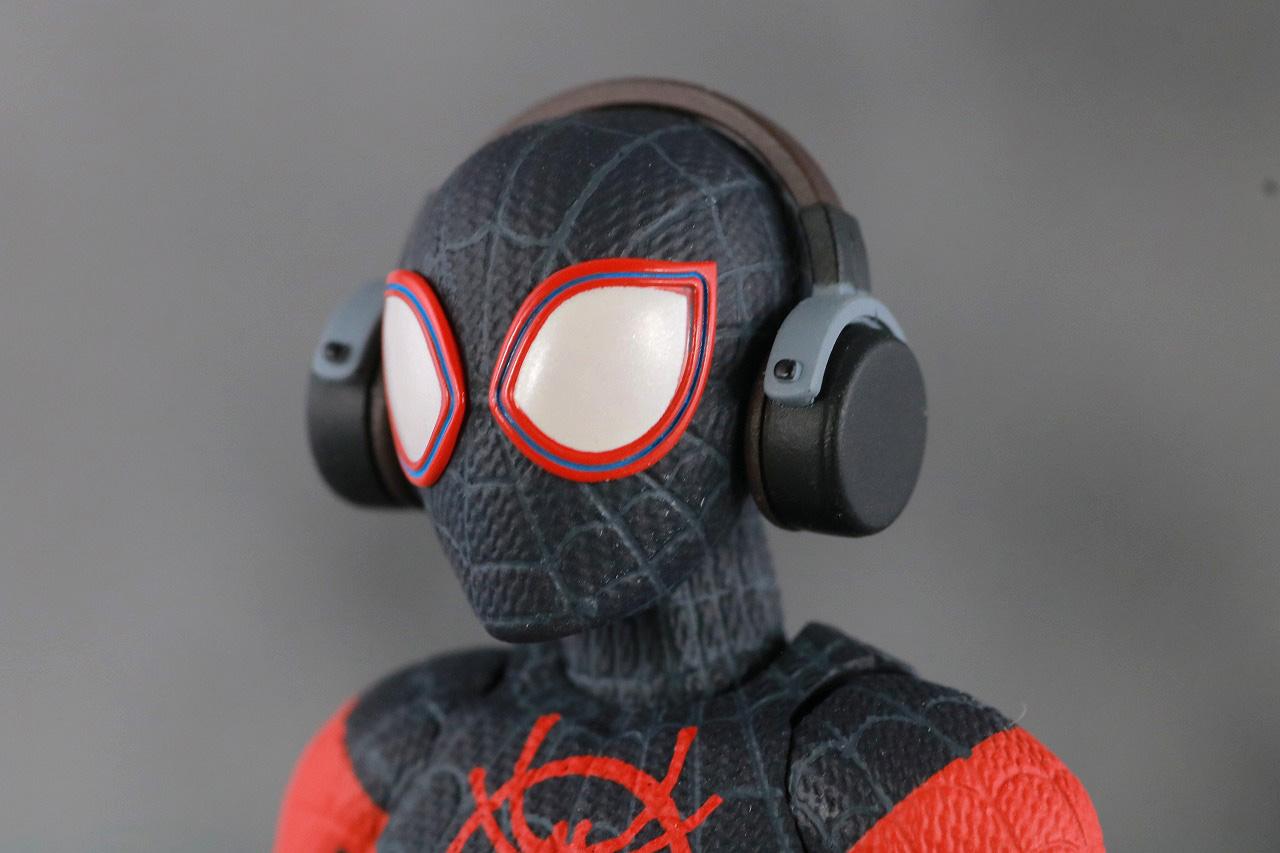 千値練 SVアクション マイルス・モラレス/スパイダーマン 付属品 ヘッドフォン