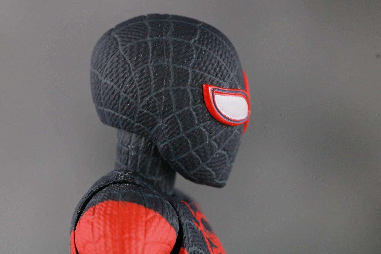 千値練 SVアクション マイルス・モラレス/スパイダーマン 付属品 差し替えヘッド