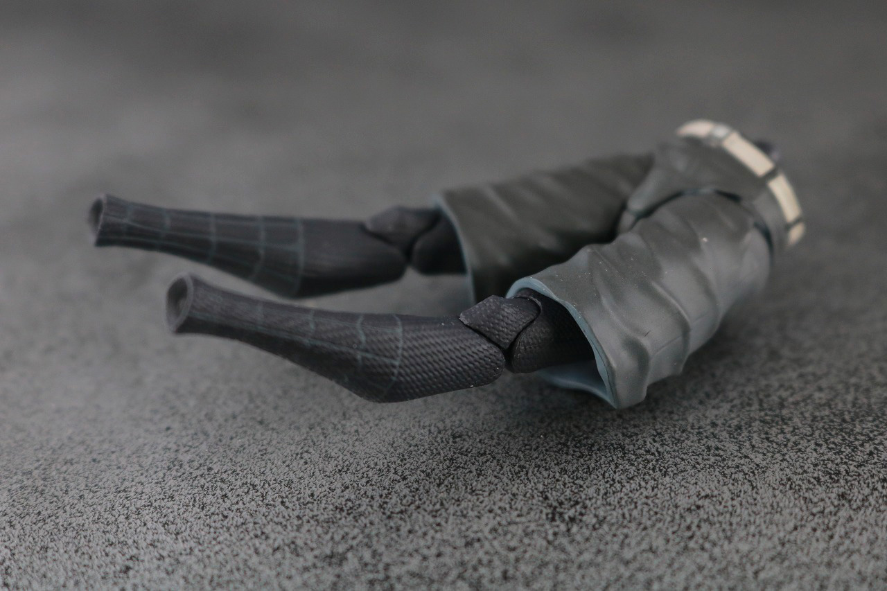 千値練 SVアクション マイルス・モラレス/スパイダーマン 付属品 服 着せ替え