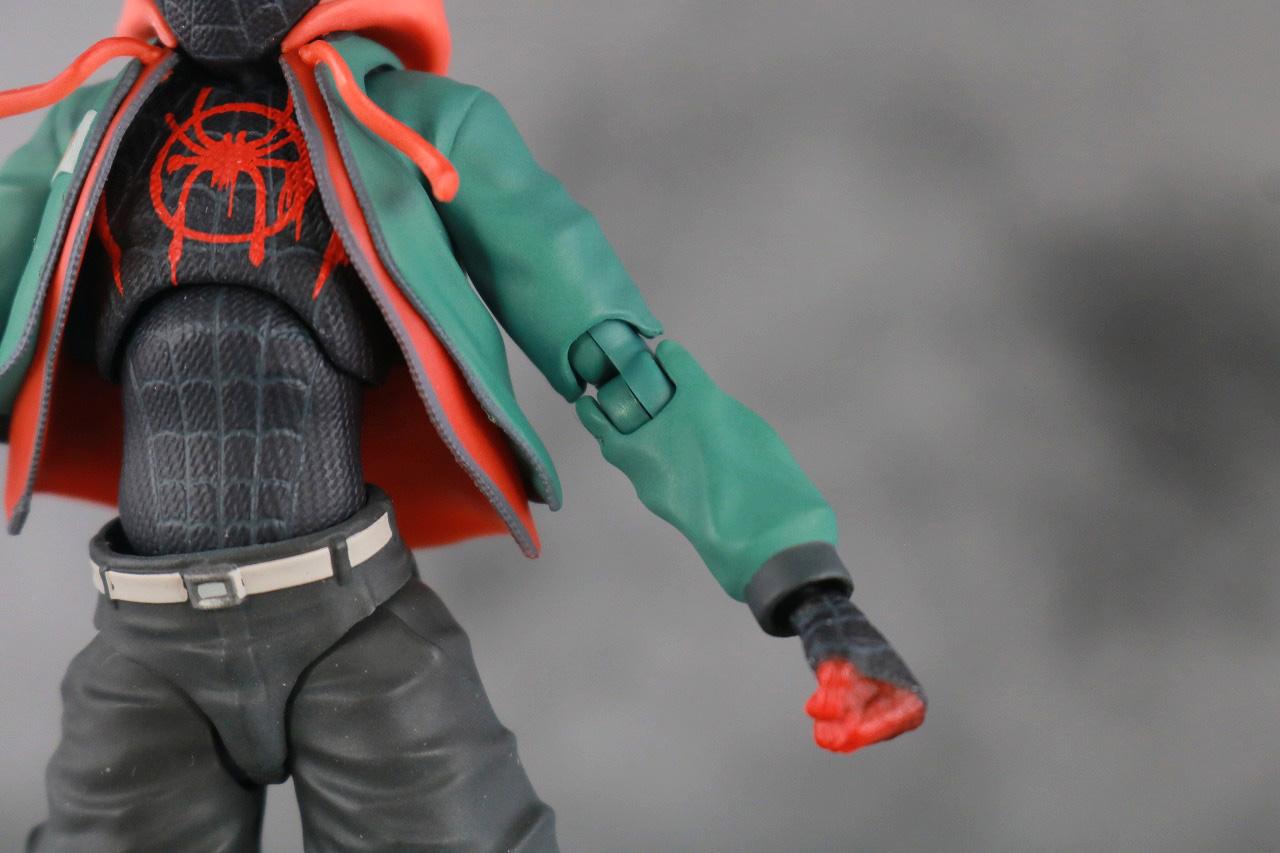 千値練 SVアクション マイルス・モラレス/スパイダーマン 付属品 服 本体