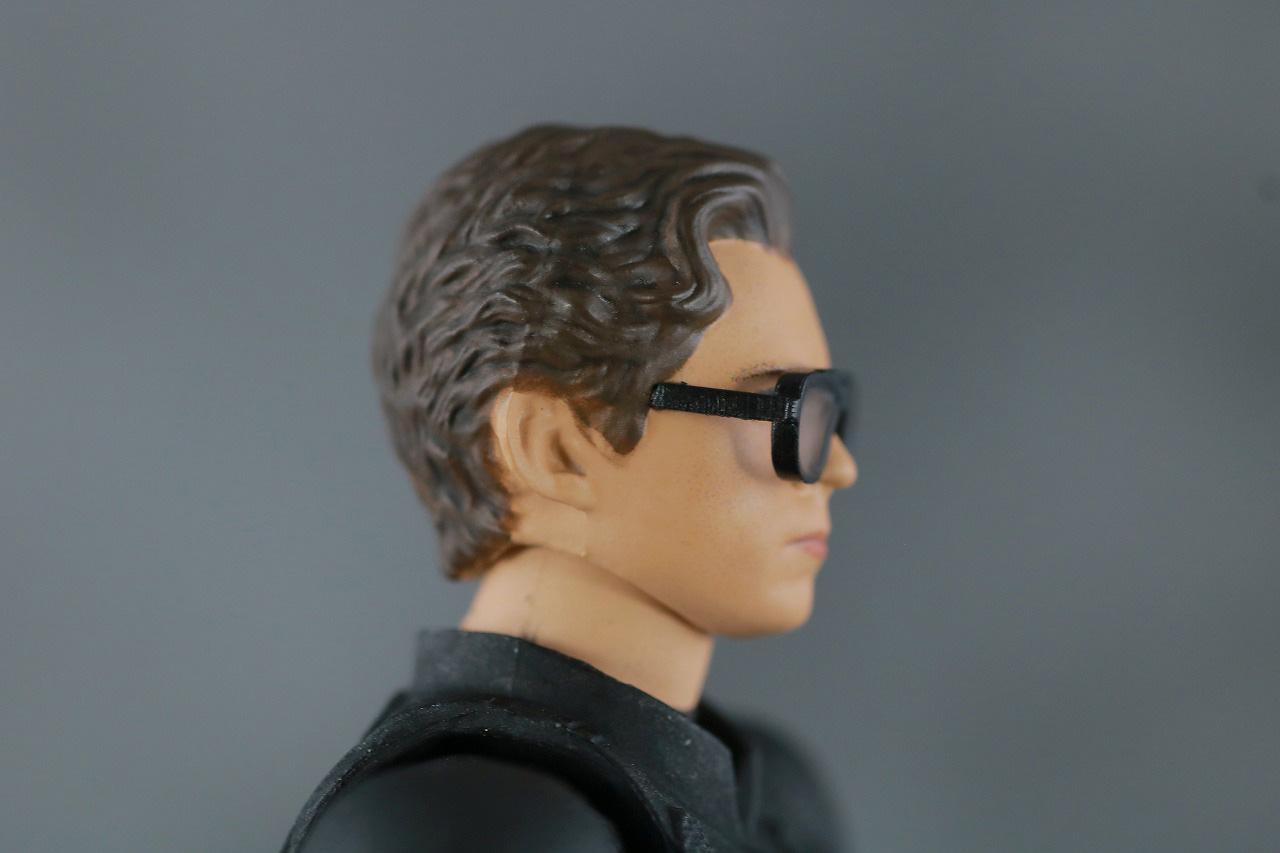 MAFEX スパイダーマン ステルス・スーツ レビュー 付属品 イーディス ピーター・パーカー ヘッド